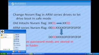 How to Remove Password from Hitachi ARM Hard Drives?