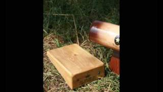 Diddley Bow Wood Stompbox Classic Serie  River Band Workshop
