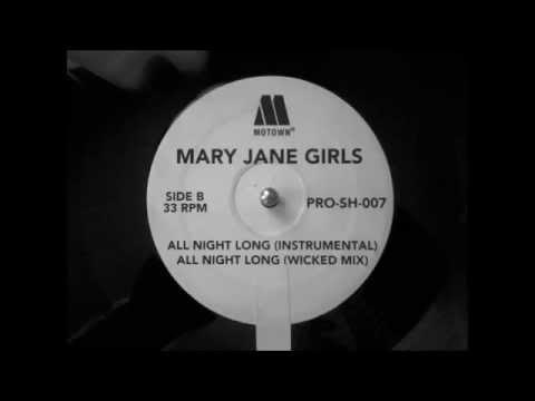 Mary Jane Girls - All Night Long (instrumental)