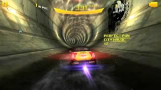 Asphalt 8 Tokyo Tunnel manoeuvre