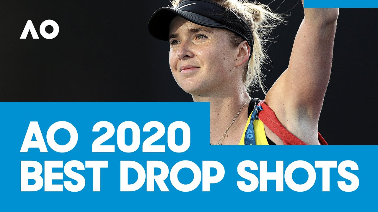 The best drop shots from AO2020