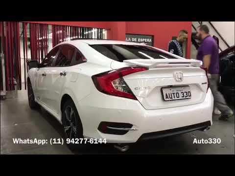 Honda Civic 2017 - Aerofólio Civic - Aerofólio Civic Geração Dez - Auto330 Acessórios - YouTube