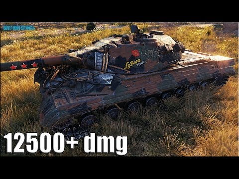 12500 урона Объект 277 ✅ World of Tanks лучший бой