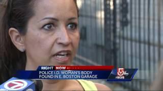 Woman found dead inside East Boston garage identified by police