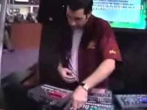 James Bernard KORG crazy LIVE electribe + Kaosspad