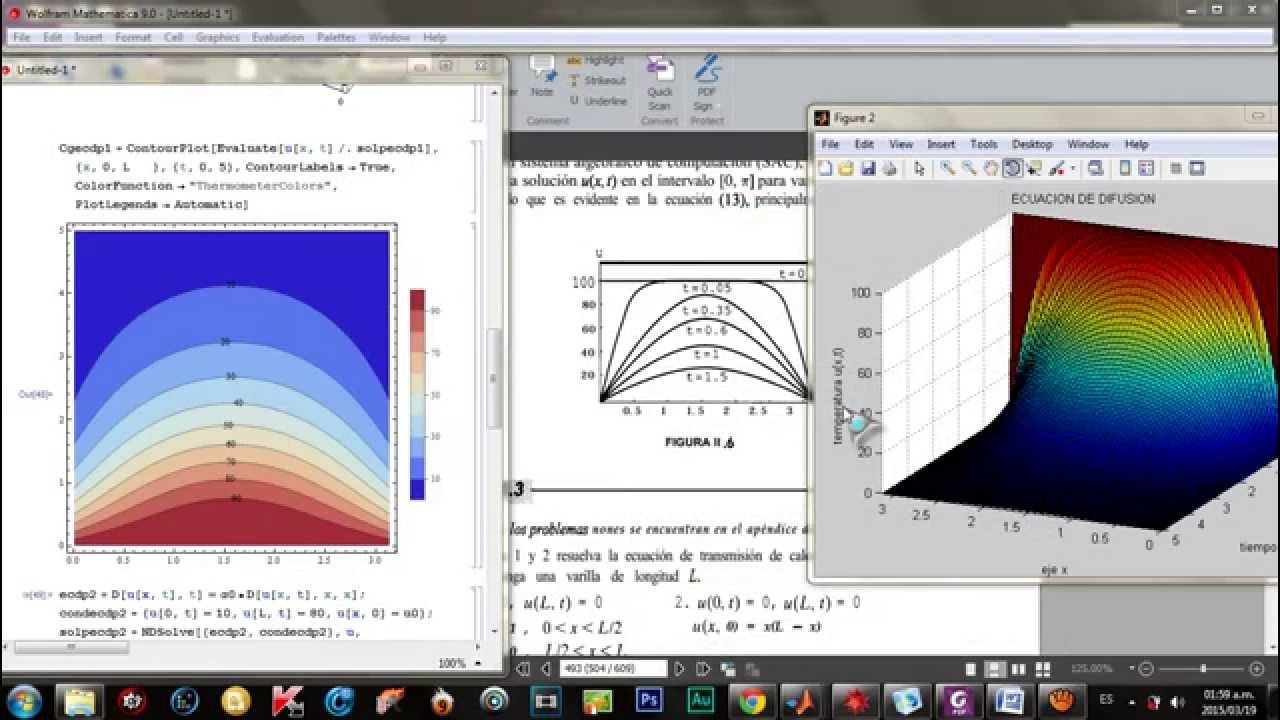 Transferencia de calor en una placa de cobre by jkmilo1191