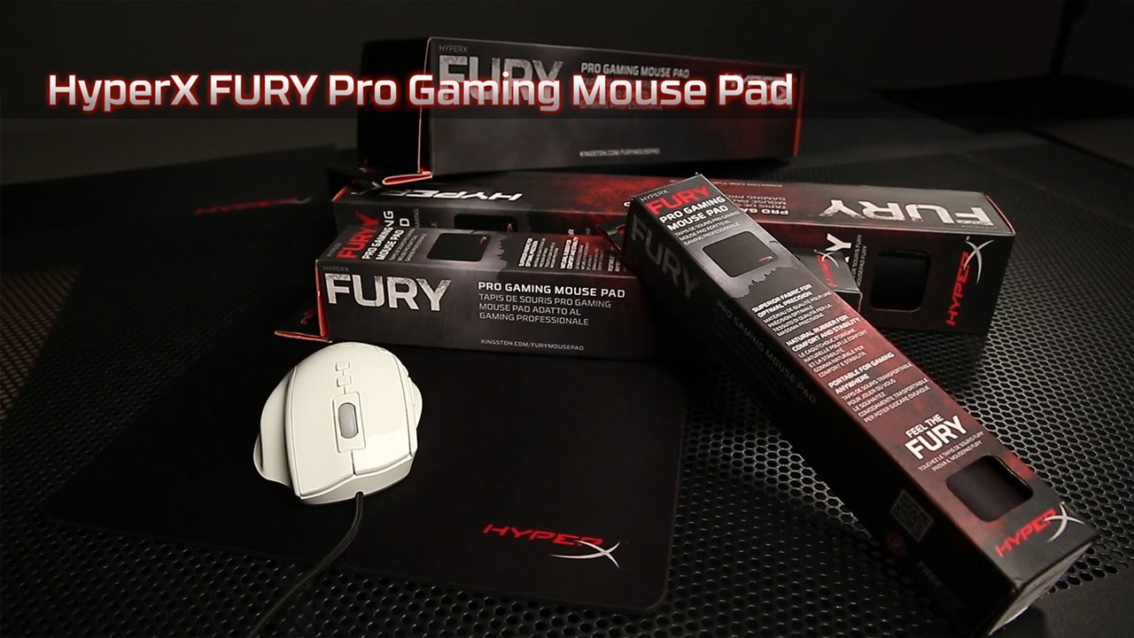 Коврик для мыши HyperX FURY – точность перемещения и удобство использования