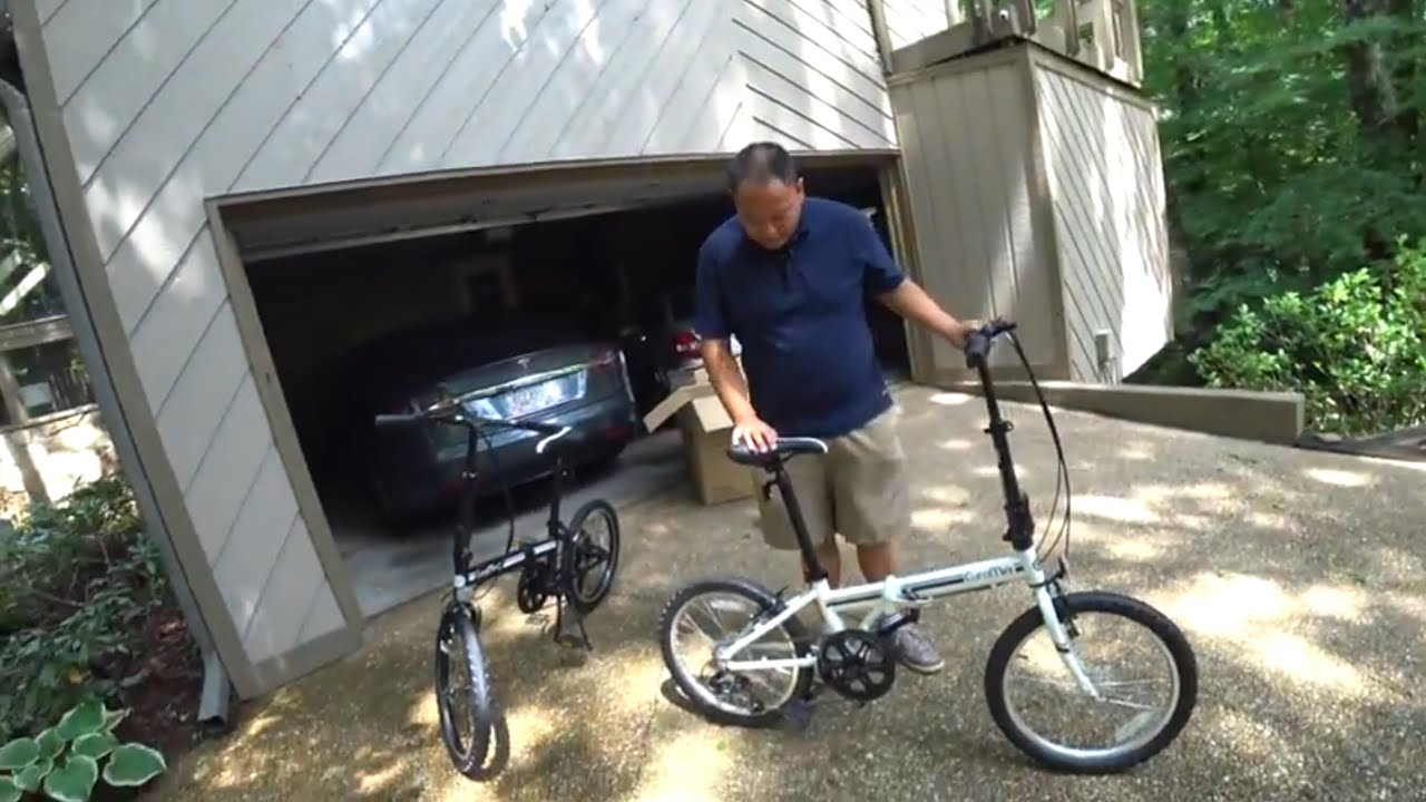 Euromini Campo 20 Folding Bike Vs Tesla Model S Will It Fit Unboxing Assembly And Review Youtube
