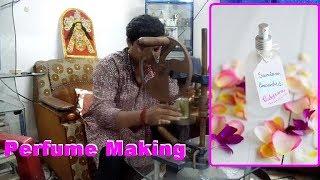 Perfume making method in english and hindi.