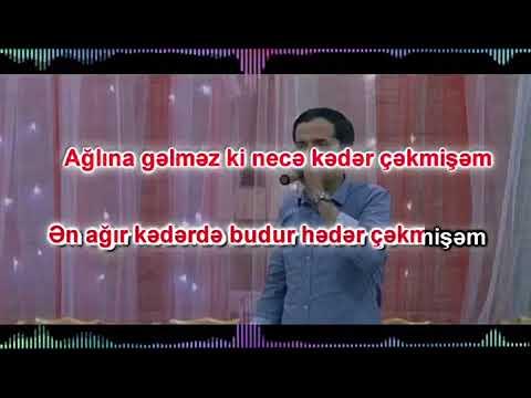 Orxan Lokbatanli Zeng Ele Herden Karaoke 2017 Youtube