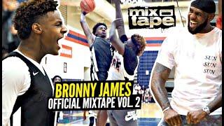 bronny-james-official-mixtape-king-s-blood-vol-2-bronny-went-crazy-on-us