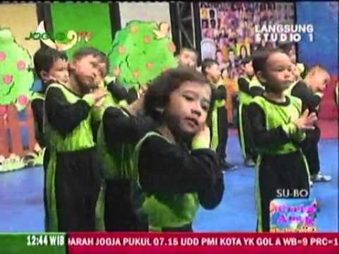 Senam Irama Ceria TK PKK Kanoman Jogja TV 24/05/2014