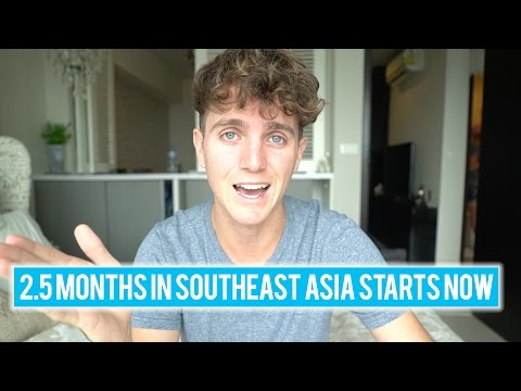 How to Book a 2.5 Month Trip to Asia in 24 hours (We're in Thailand)