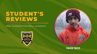Maher Taher. MSM Football Academy, February 2018