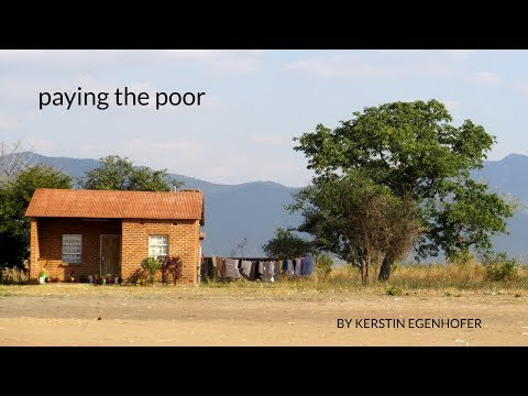 Paying the Poor: Money for Malawi's School Children