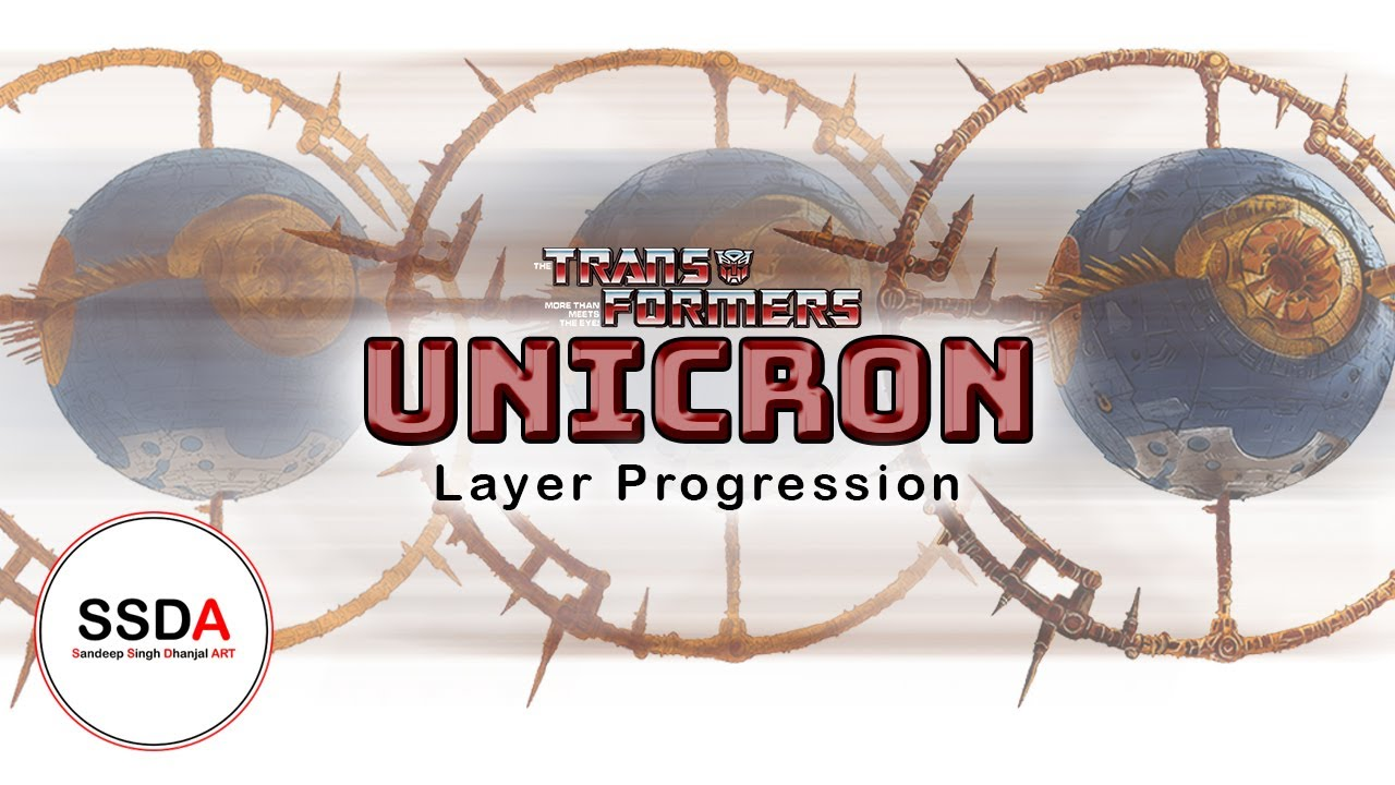 Transformers UNICRON drawing