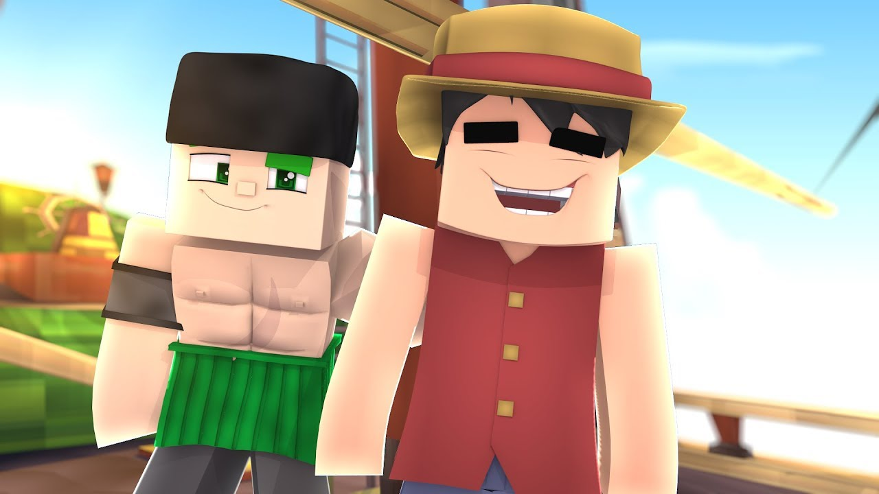 Minecraft One Piece, LUFFY ENCONTRA ZORO! 8 (NOVA SÉRIE)