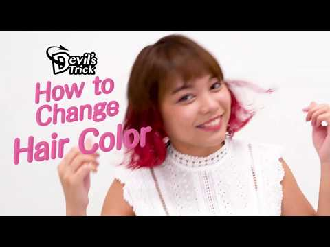 DevilsTrickHowtoChange Hair Color