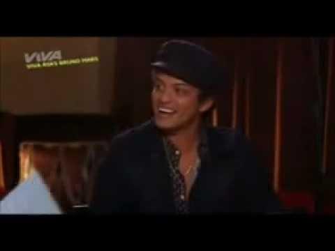 MTV/VIVA Asks Bruno Mars Part 1/2