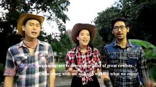 KU Yodel Cowboy Song  of   Kasetsart University ...Kamphaeng Saen