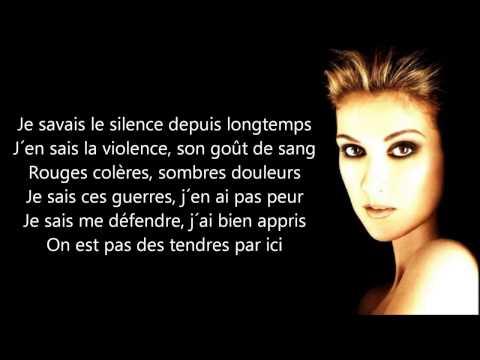 Céline Dion   Je sais pas   Paroles   YouTube