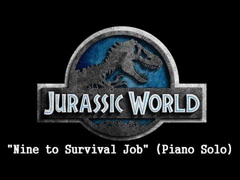 Jurassic World Theme on piano by Michael Giacchino