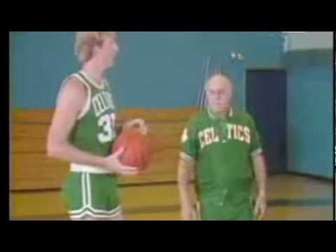 Shooting Lessons with Larry Bird & Red Auerbach | HD