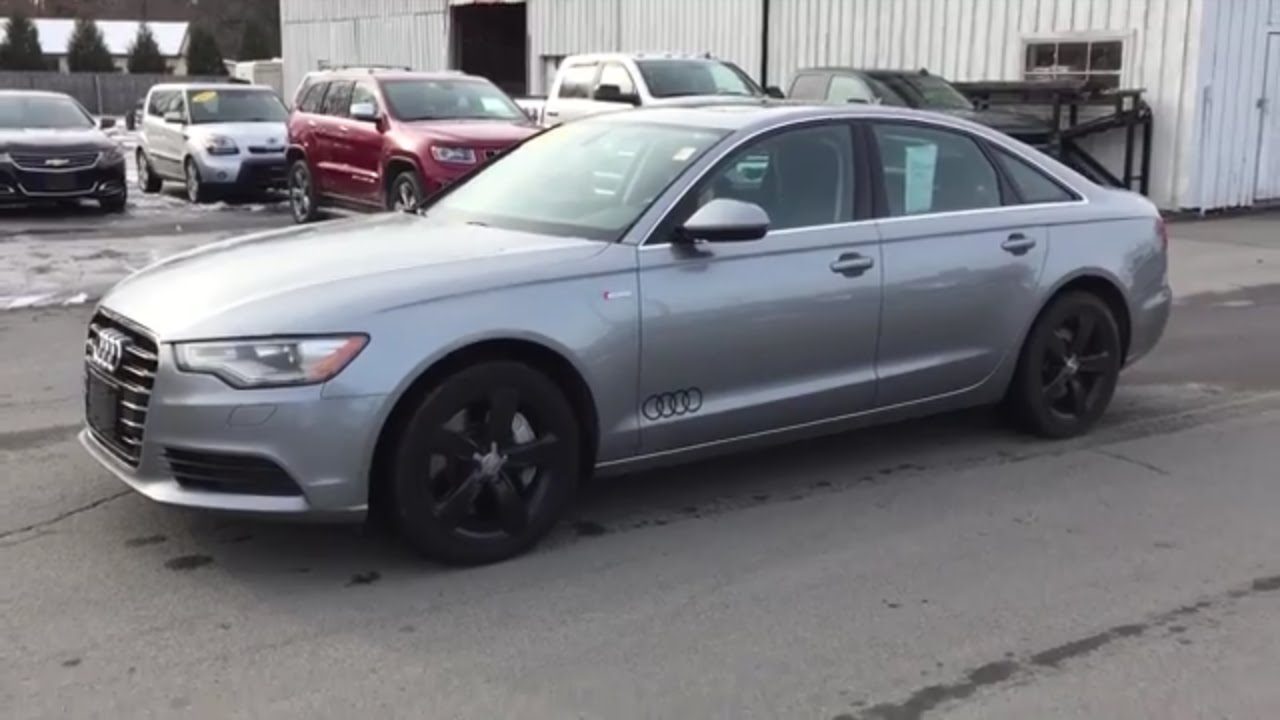 2012 Audi A6 Quattro Supercharged For Sale At Whalen
