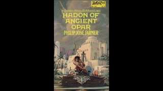 "Philip José Farmer pronounces ""Hadon"" (1 of 2)"