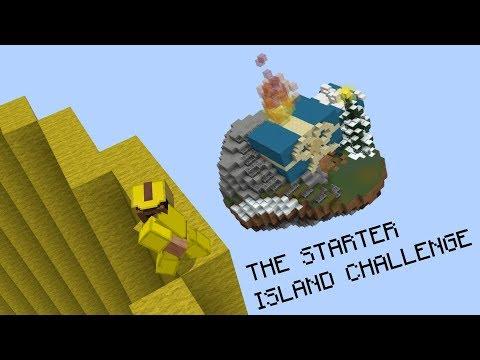 THE STARTER ISLAND CHALLENGE (Hypixel Bed Wars)
