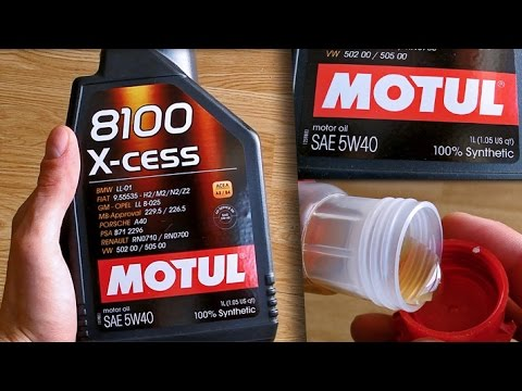 motul 8100 x cess 5w40 original product show youtube. Black Bedroom Furniture Sets. Home Design Ideas