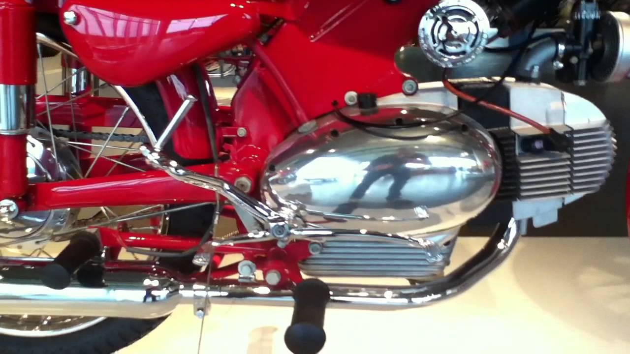 Barber Motorsports Museum >> 1957 Motobi Catria Lusso 175 - YouTube