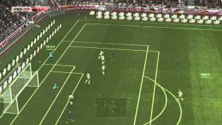 PES2014 GERMANY VS FRANCE GAMEPLAY ONLINE