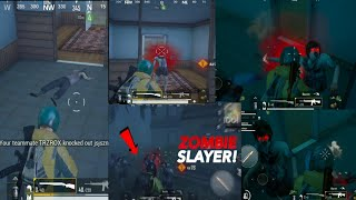 PUBG mobile 1 player VS 40  zombies mode gameplay