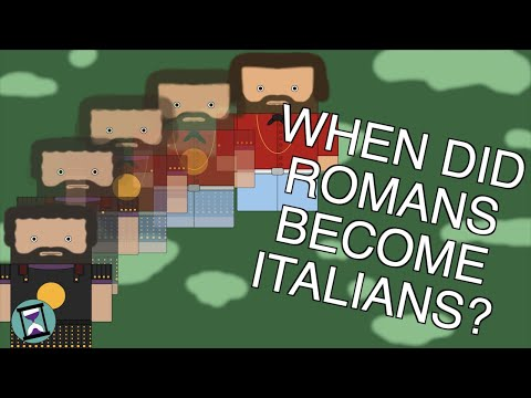 When Did the Romans Become Italians? (Short Animated Documentary)