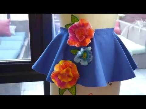 How to Drape a Peplum!  Sewing Project 1: The Peplum