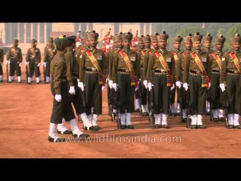 Protecting the President of India - PBG's change of guard at the Rashtrapati Bhavan