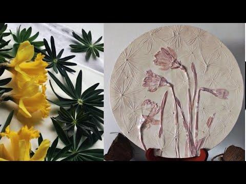 Art DIY Home Decor Casting Flowers Tutorial/ Нарциссы МК thumbnail