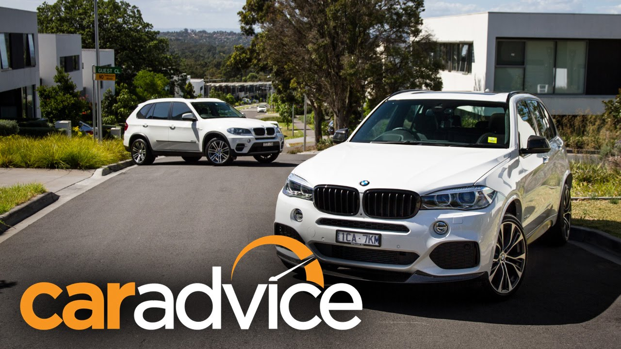 bmw x5 twin test - upgrading from e70 to f15 - youtube