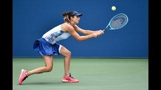Alize Cornet vs Tsvetana Pironkova | US Open 2020 Round 4
