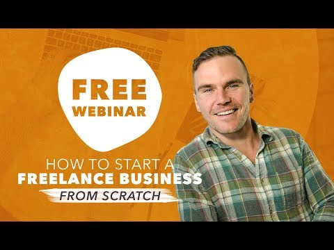 Free Webinar: 8 Things You Need To Know Before Starting Your Freelance Business