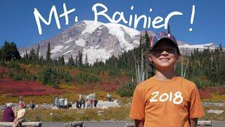 Mt. Rainier Camping 2018