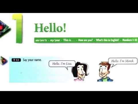 English-Headway Somali Version Lesson 1