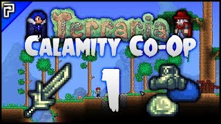 Video ⭐️ The Duo Returns! Slime & Sword Madness! | Terraria Calamity Mod Co-Op Playthrough [Episode 1] download MP3, 3GP, MP4, WEBM, AVI, FLV November 2017