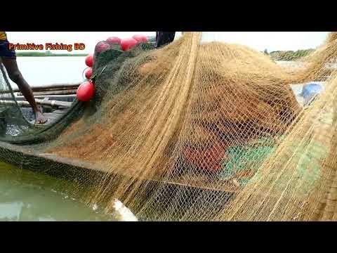 Best Hilsa Fishing At Sea ! Amazing Ilish Fish Catching By Net With Beautiful Natural