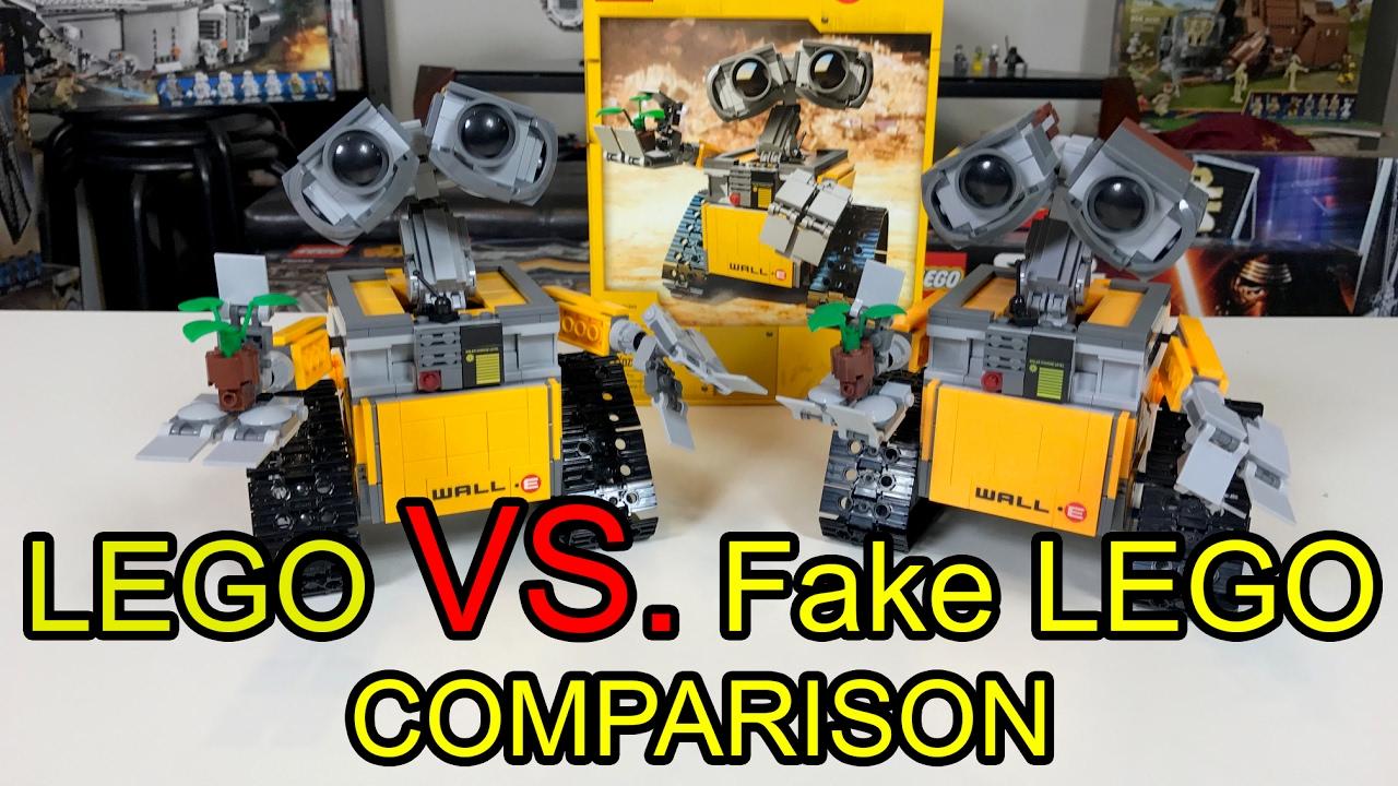Lego Wall-E VS. LELE Wall-E Comparison Review