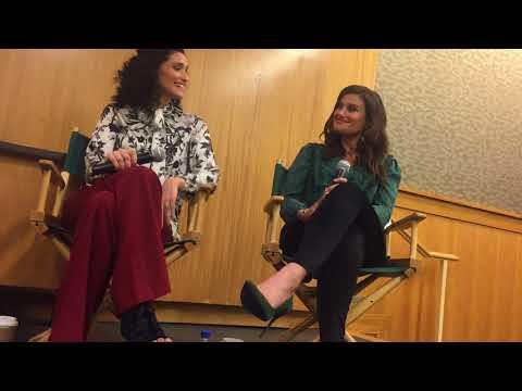 Idina Menzel and Cara Mentzel discuss Voice Lessons at Barnes&Noble