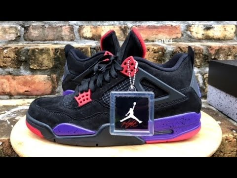 "7954974cd0b Air Jordan 4 ""Raptor"" review - YouTube"