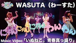 わーすた(WASUTA)「いぬねこ。青春真っ盛り」(Inu Neko Seishun Massakari)Music Video