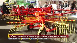 Türkay Minos Agri Almanya Fuarında / Çiftçi TV